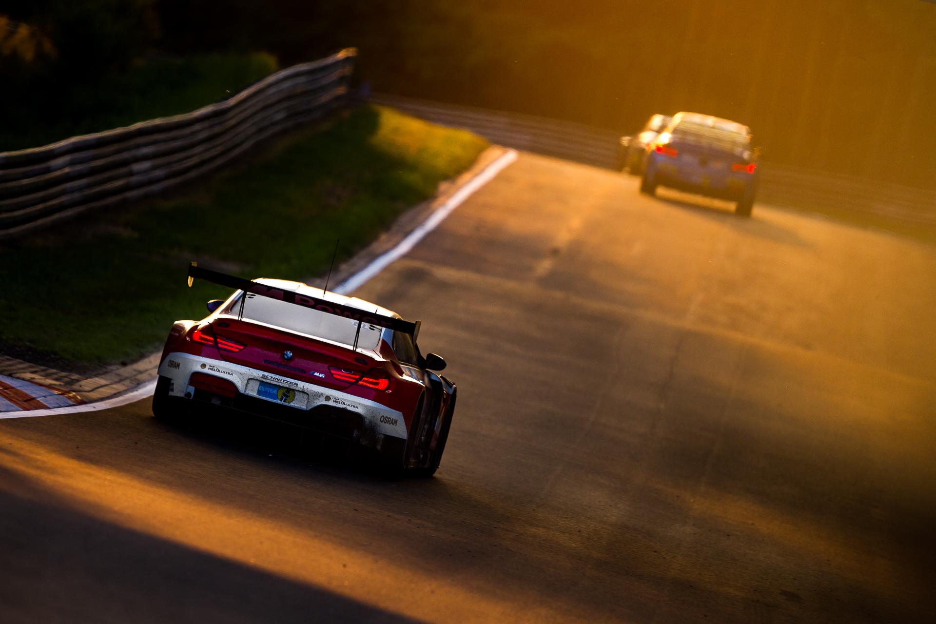 N24h Nürburgring BMW M6 Sunrise