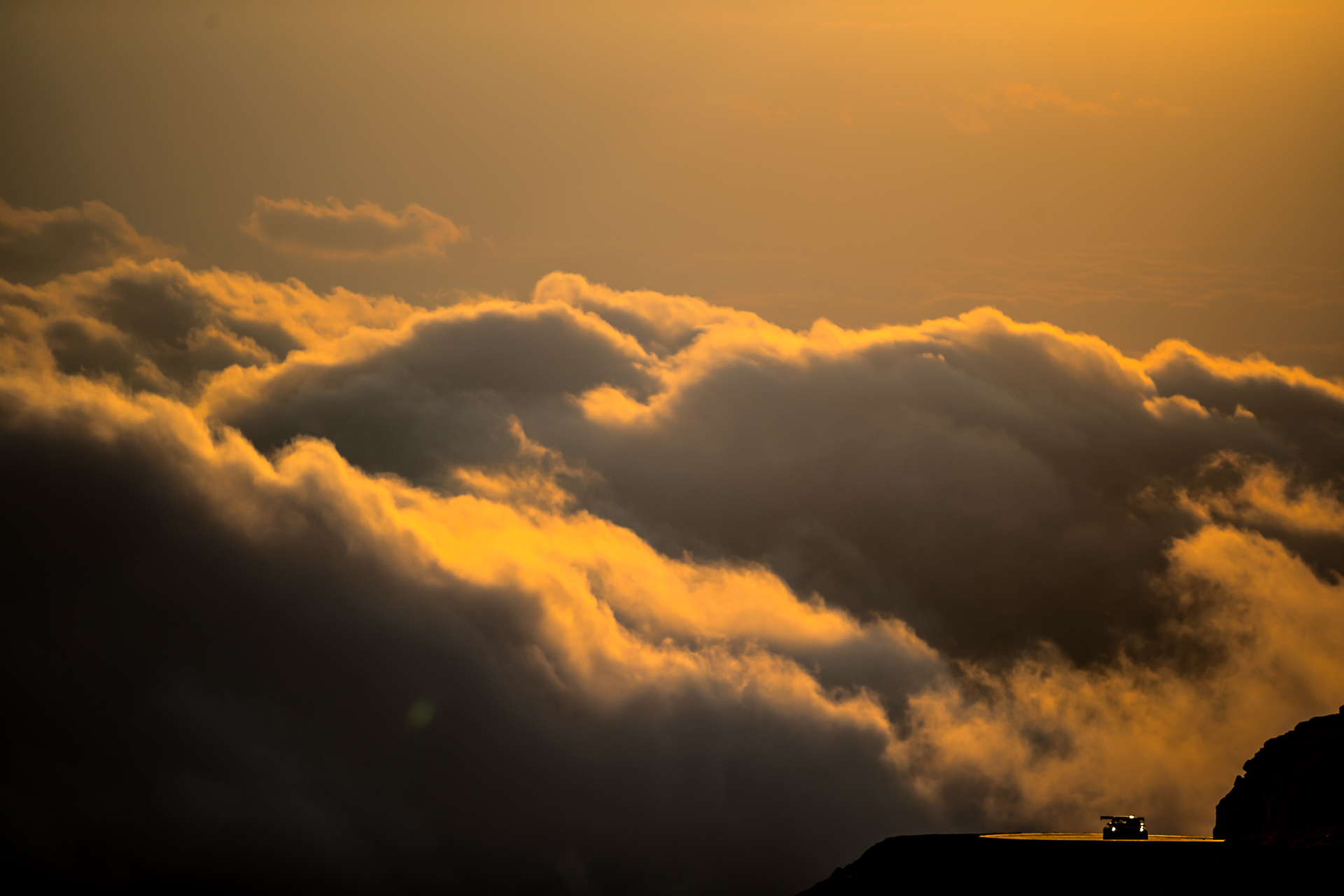 Pikes Peak International Hill Climb / Clouds