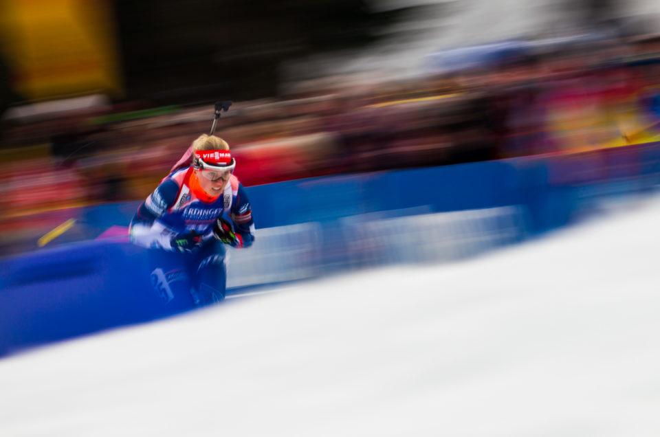 Ausflug in die Welt des Biathlon